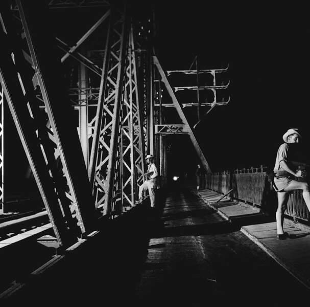 Surveillance renforcée sur le pont Doumer