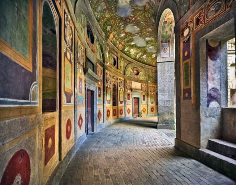 Fresques maniéristes de la villa Farnese de Caprarola