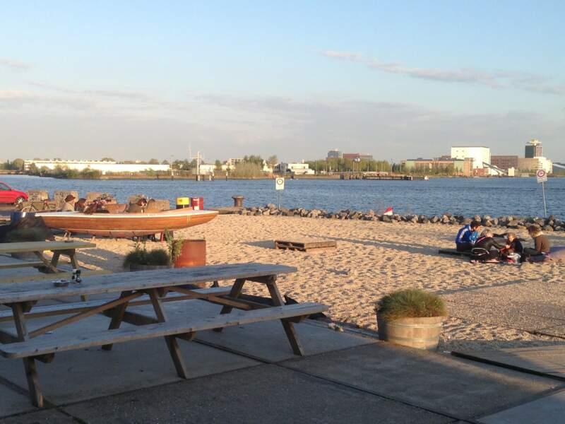 Les plages urbaines d'Amsterdam