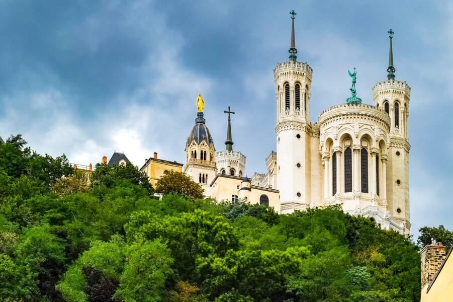 Fin XIXe - La basilique Notre-Dame de Fourvière