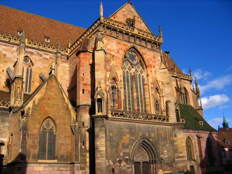 Admirer la collégiale Saint-Martin, la cathédrale de Colmar