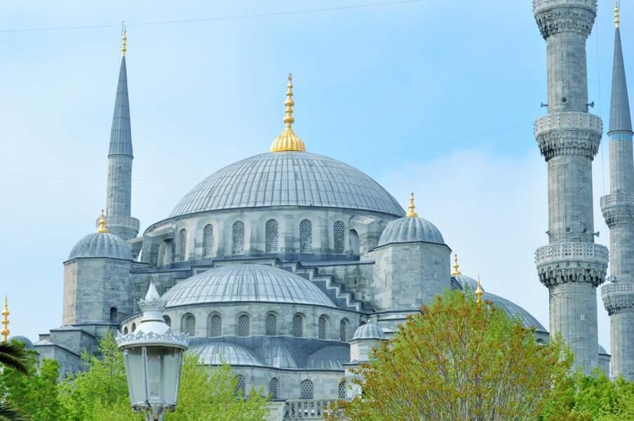 11 - La Mosquée bleue à Istanbul, Turquie