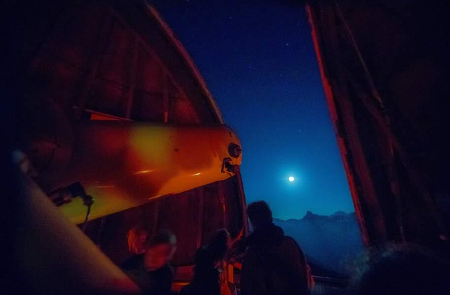 La Lune pour lampadaire