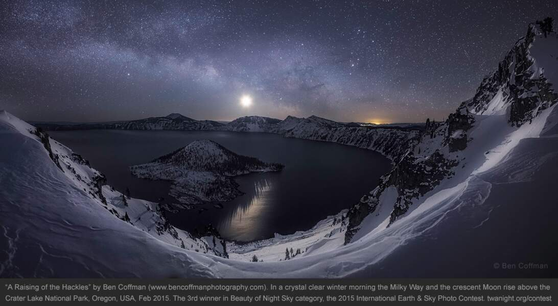 Crater Lake, dans l'Oregon, Etats-Unis
