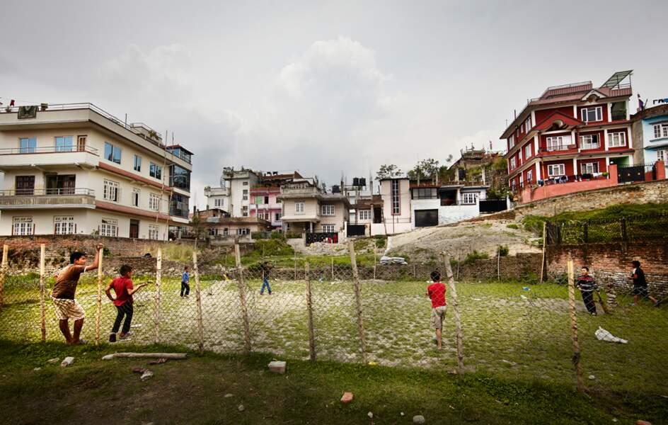 Quartier dans la capitale népalaise