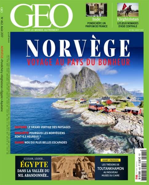 Reportage à découvrir dans le GEO n°462 (août 2017, Norvège)