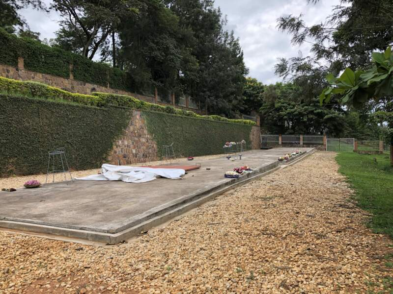 Le mémorial du génocide à Kigali