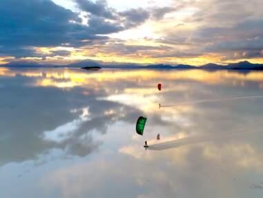 Bolivie : revivez la traversée en kitesurf du salar de Uyuni