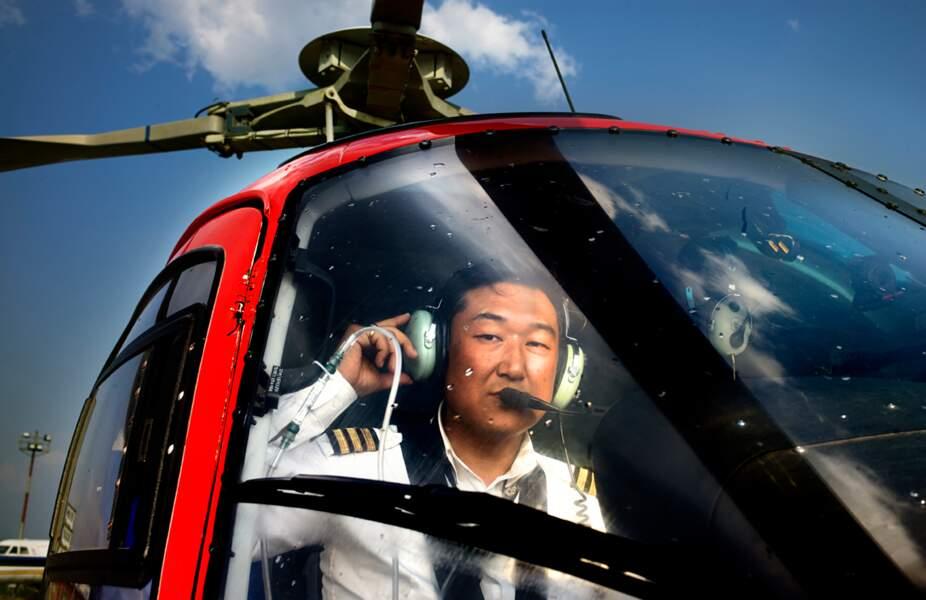 Sherpas nouvelle génération : secours en hélicoptère