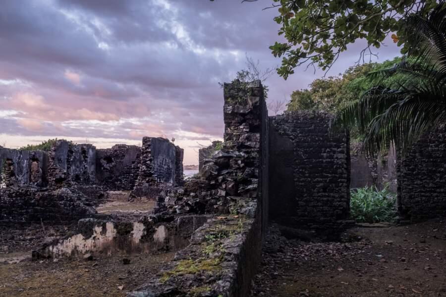 Le premier bâtiment en pierre de l'océan Indien