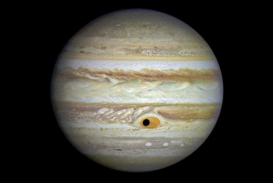 Ganymède et Jupiter