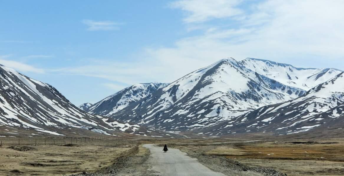 Premier coup de pédale à 4000 au Tadjikistan