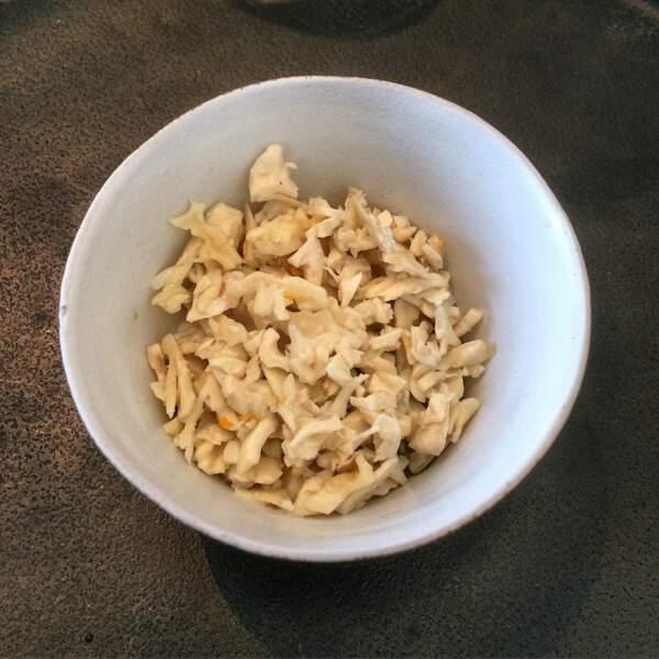 Miso de tofu auxcopeaux de noix de la région de Nagano