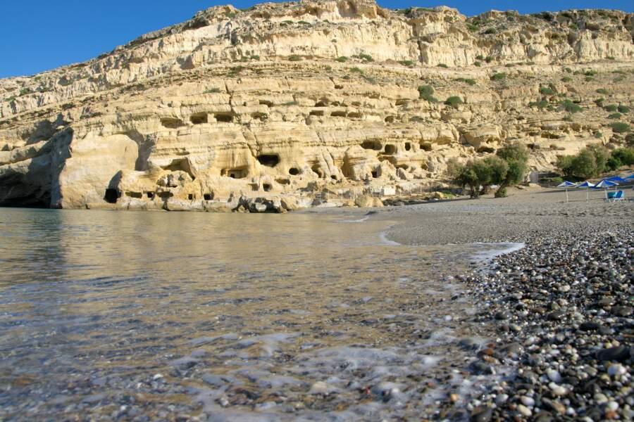 Matala et ses grottes artificielles