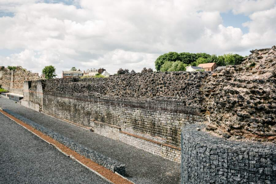 Une muraille romaine au centre-ville