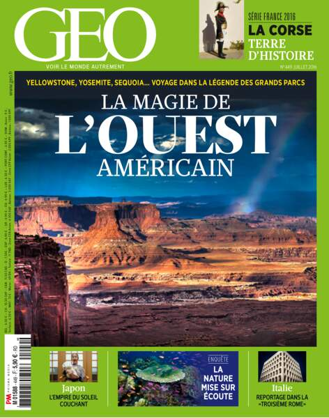 Retrouvez l'intégralité du reportage dans le magazine GEO 449 (JUILLET 2016)