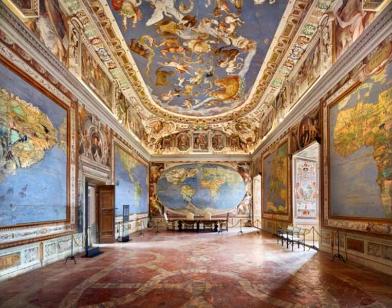 Salle des Cartes Géographiques, dans la villa Farnese de Caprarola