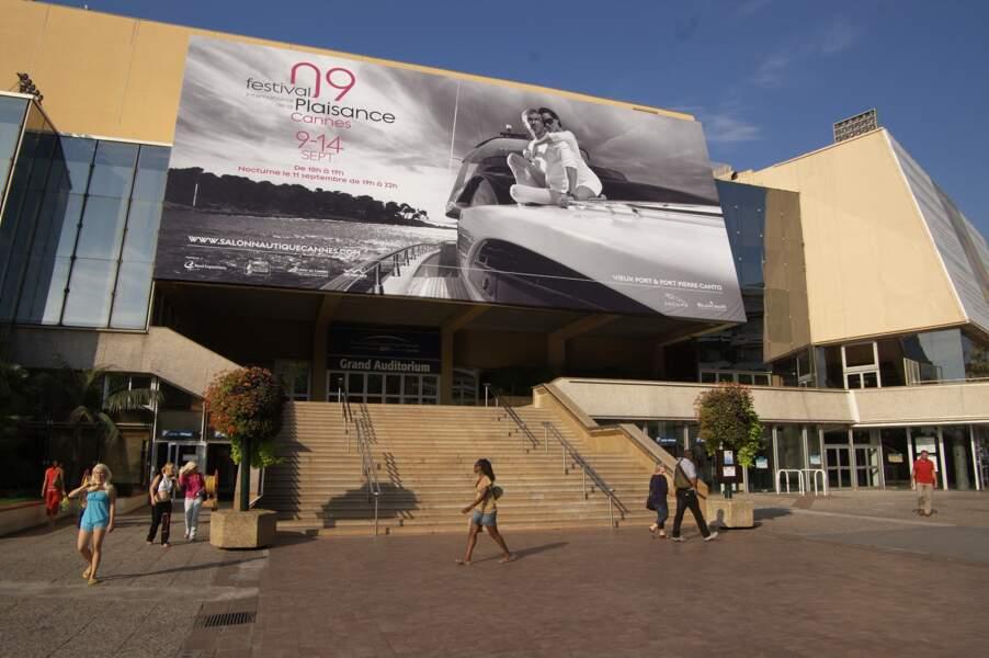 Le Palais des Festivals : des paillettes, mais pas que...