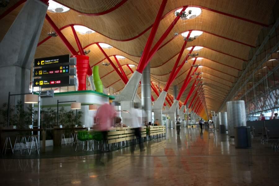 4 - Aéroport de Madrid-Barajas, Espagne