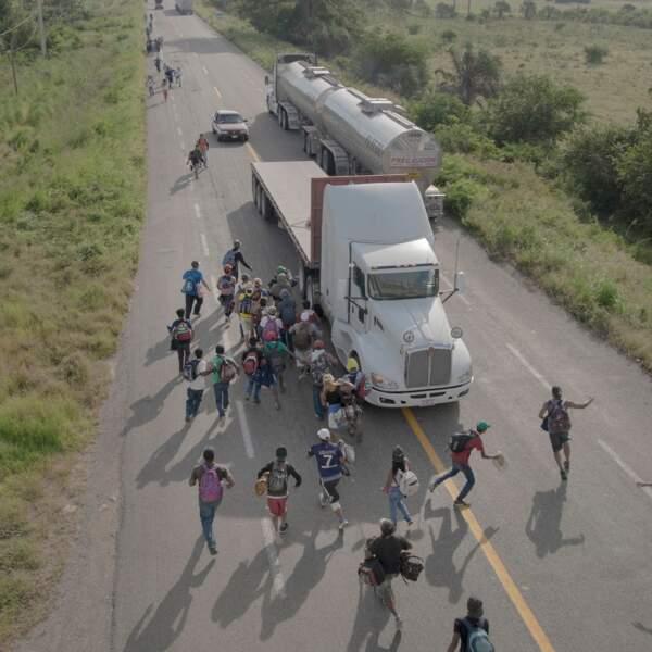 """La caravane de migrants partie du Honduras à l'automne, ici au Mexique – Catégorie """"histoire de l'année"""""""
