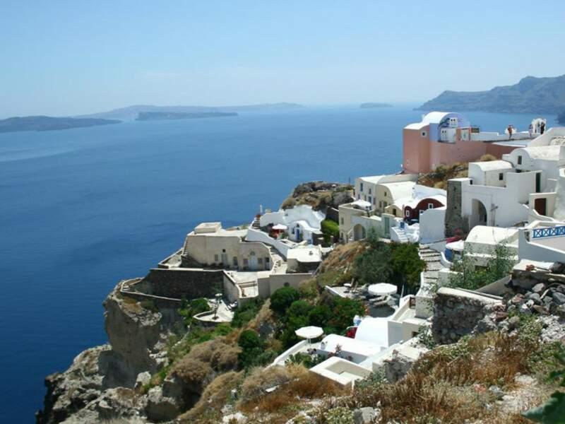 Diaporama n° 15 : Grèce : sur l'île de Santorin