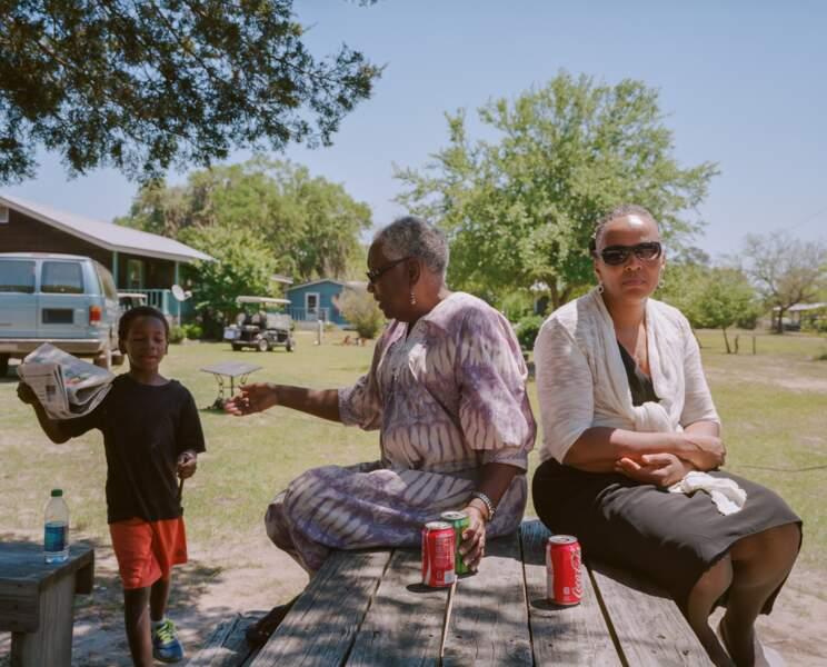 Cornelia Bailey, représentante des Gullah de Sapelo island