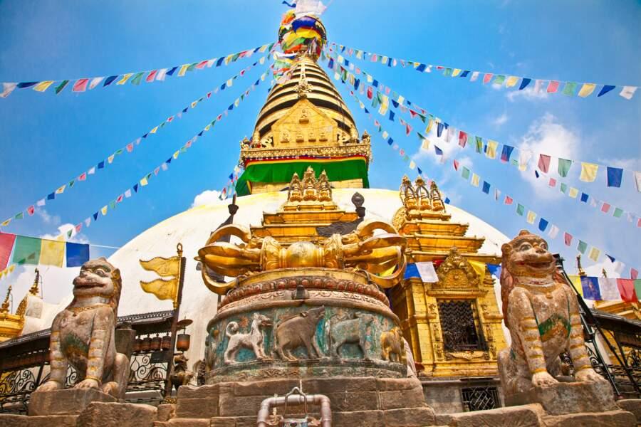 Visiter Swayambhunath, le temple des singes de Katmandou