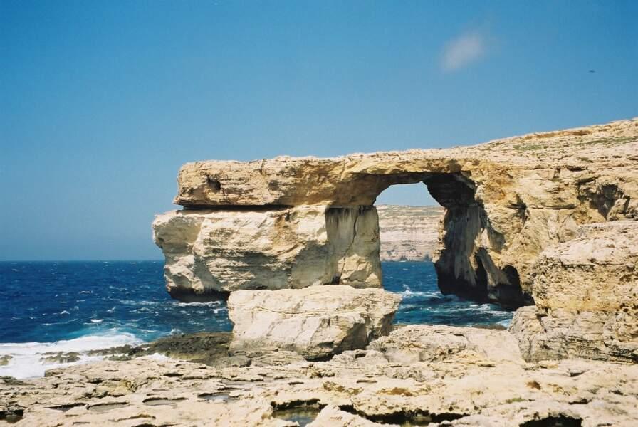 Plage de Dwejra, à Malte : lieu de mariage de Khal Drogo et Daenerys