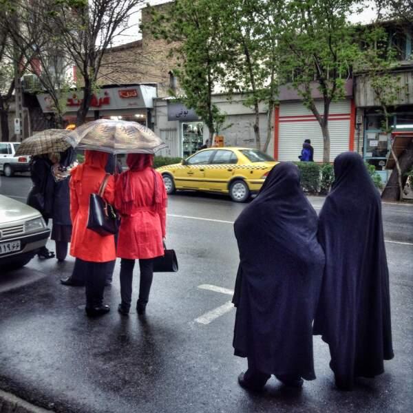 Les parapluies de Tabriz