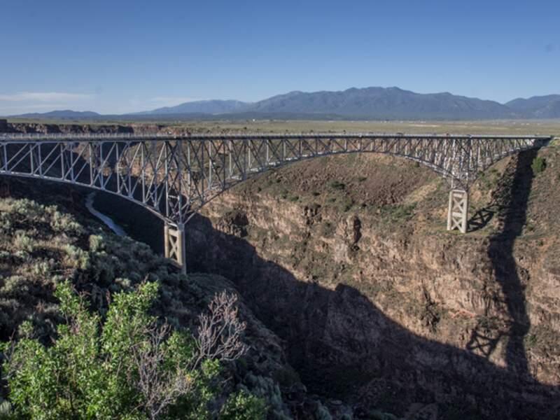 Etats-Unis - Le Rio Grande au Nouveau Mexique