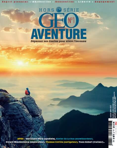 Retrouvez Guillaume Néry dans notre premier numéro de GEO Aventure (juillet-août 2017)