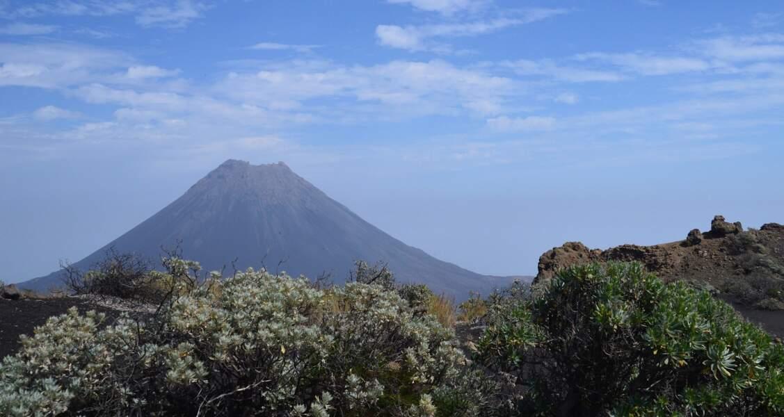 Le volcan Pico do Fogo, sur l'île Fogo