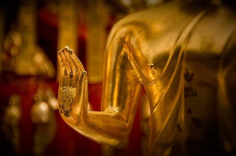 Main de Bouddha, par Laurent Hunziker