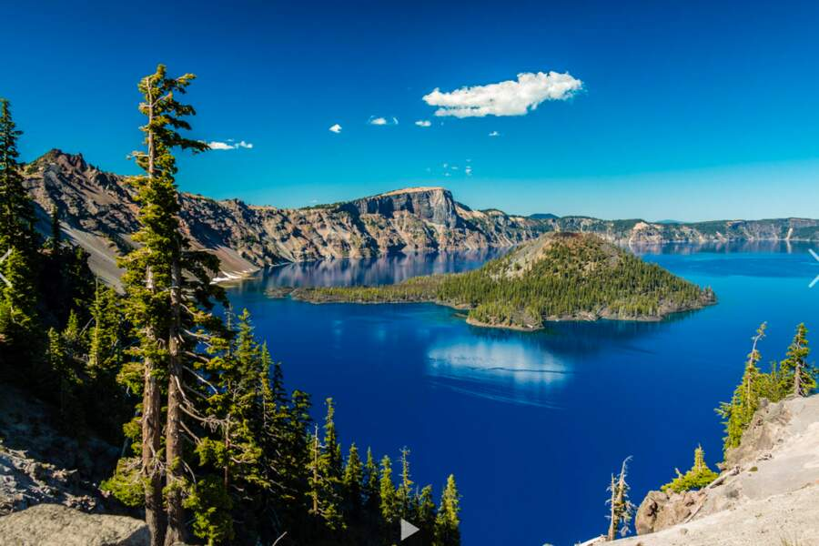 Wizard Island, parc national de Crater Lake