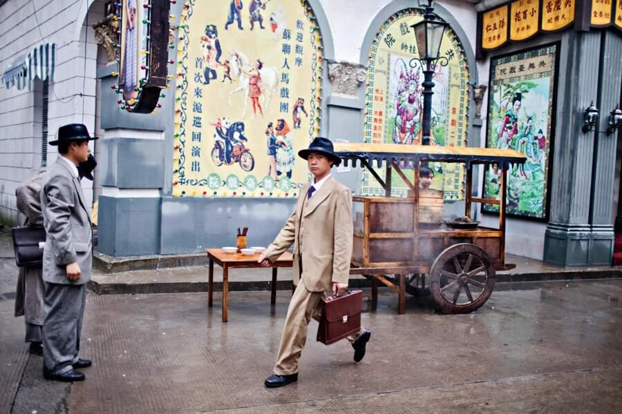 A Hengdian, le Canton des années 1930 revit, avec gangsters et grosses cylindrées