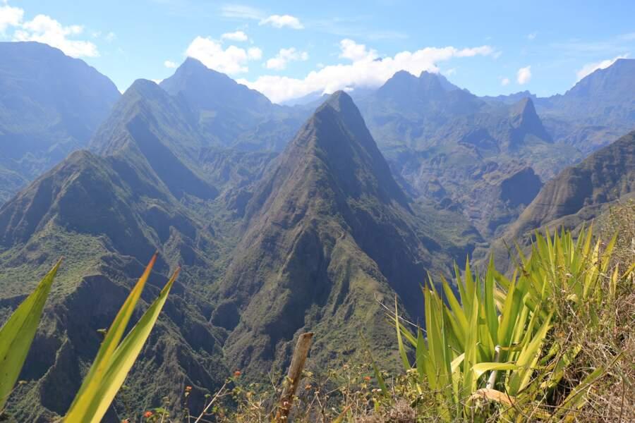 Les trois cirques de La Réunion