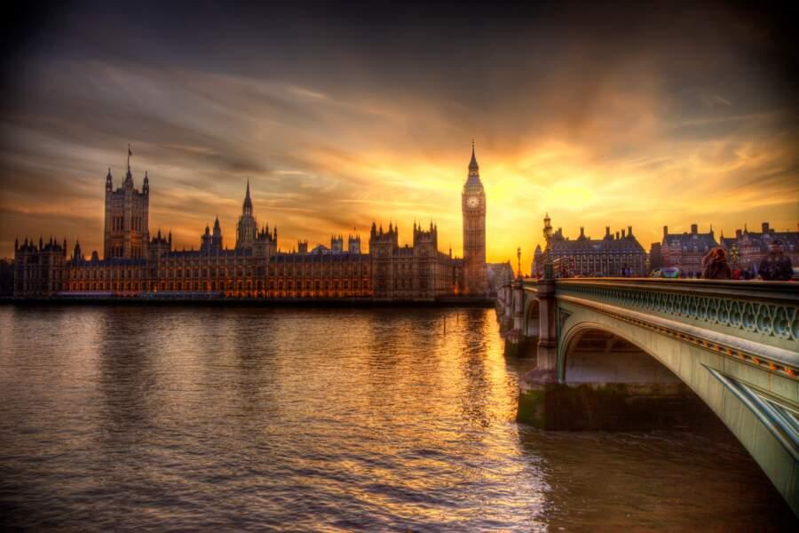 Londres - Un sprint ébouriffant sur la Tamise