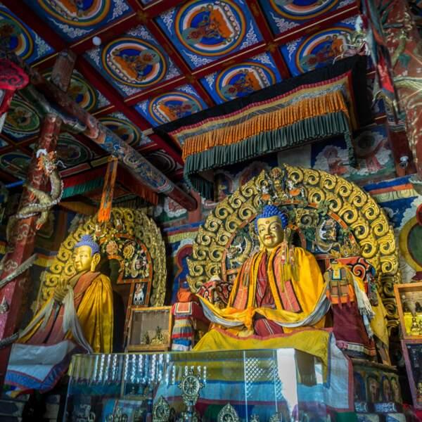 Sanctuaire bouddhique de l'Erdene Zuu à Karakorum