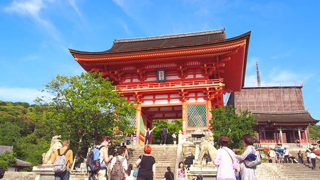 Japon - Kiyomizu-Dera, l'un des plus célèbres temples de Kyoto