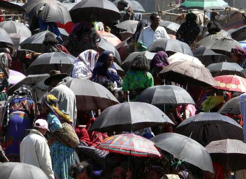 Photo prise au marché de Bati (Ethiopie) par le GEOnaute : christian.mathis