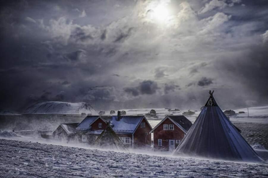 Village de pêcheurs, Norvège, par Alain Barbezat / Communauté GEO