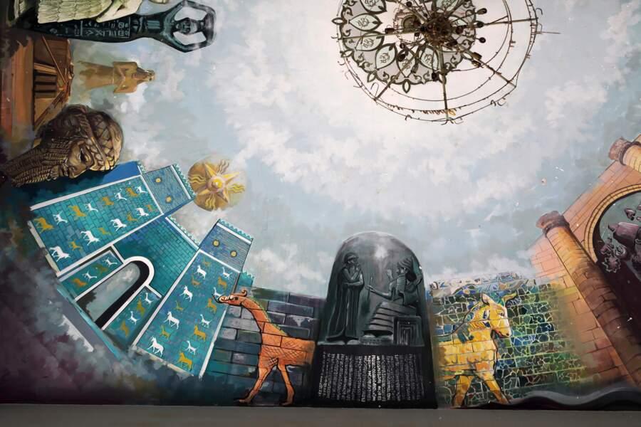 Des fresques témoins de la grandeur de la civilisation mésopotamienne