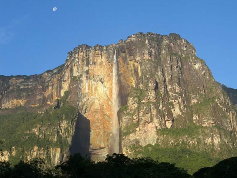 Au Venezuela, la paroi du Salto Angel est une des plus difficiles du monde