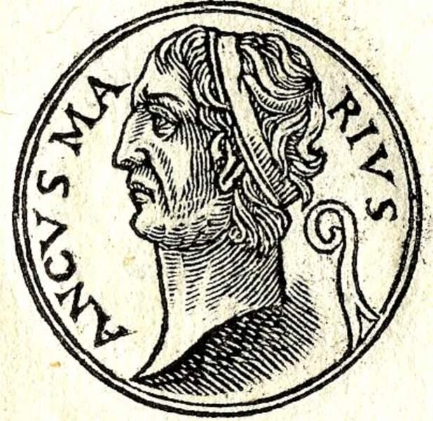 Ancus Marcius (640 à 617 avant J.-C.) : il créa le port d'Ostie sur le Tibre