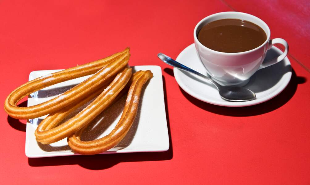 "Goûter au ""chocolate con churros"""