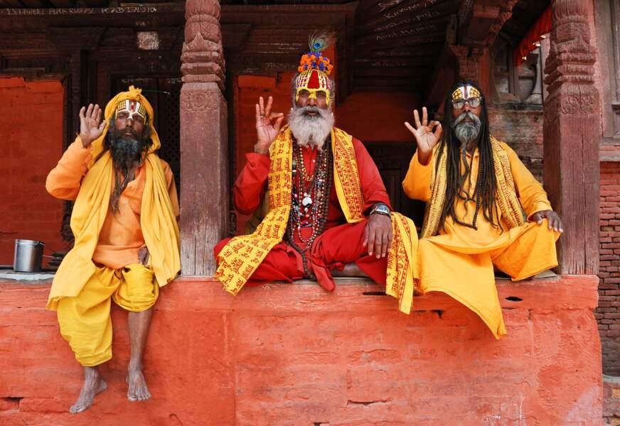 Aller à la rencontre des sâdhus, les saints de l'hindouisme
