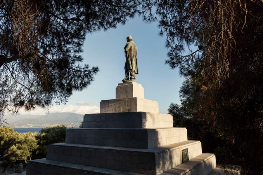 La statue de Napoléon à Ajaccio