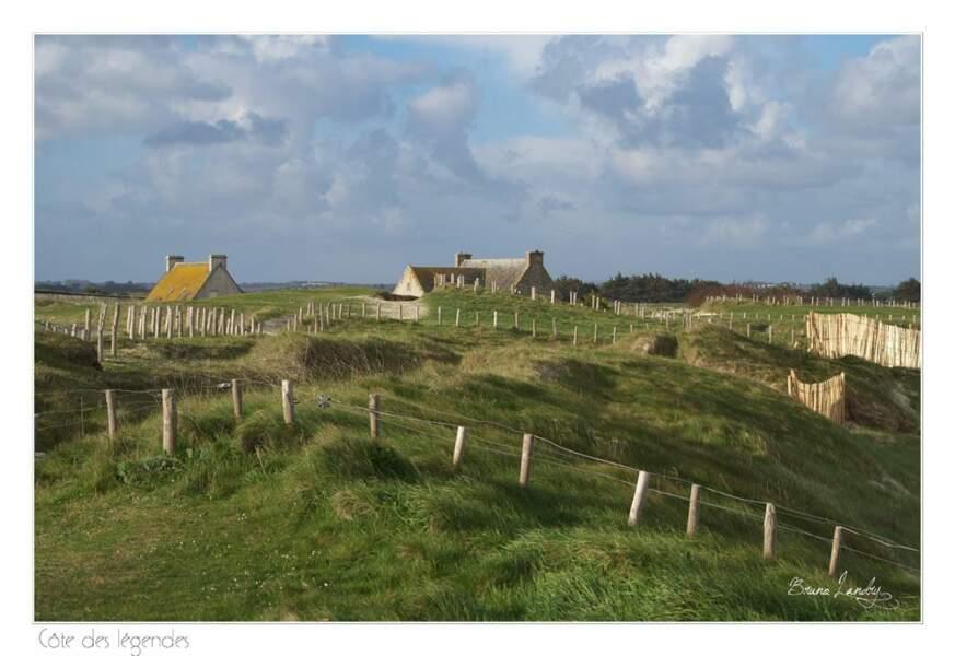 Paysage du Finistère, par sailor