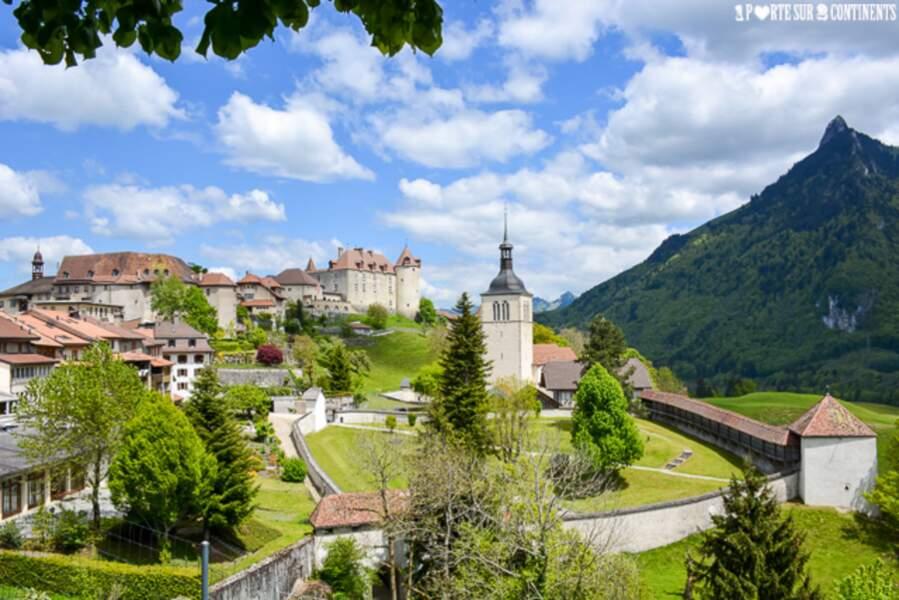 Suisse - Gruyères et son charme médiéval