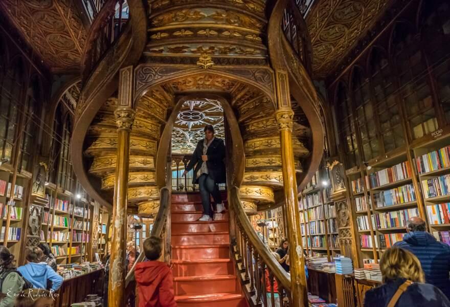La librairie Lello de Porto